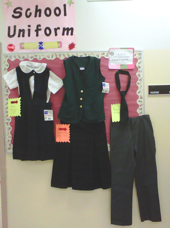 278 School Uniforms